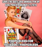 3rd Annual Pin Up Girl Poker Run