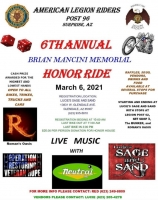 Annual Brian Mancini Memorial Honor Ride