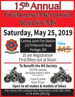 Annual Firehouse Memorial Run for MS