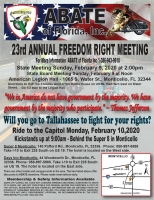 Annual Freedom Rights Ride