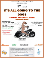 Annual It's All Going To The Dogs Charity Motorcycle Ride