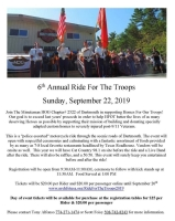 Annual Ride For The Troops