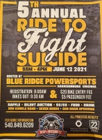 Annual Ride to Fight Suicide