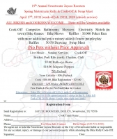 Annual Sweetwater Jaycee Roosters Spring Motorcycle Rally