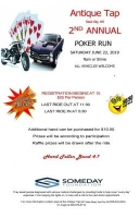 Antique Tap Annual Poker Run