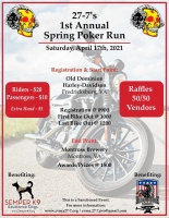 CMVA 27-7s Annual Spring Poker Run