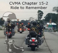 CVMA Chapter 15-2 Ride To Remember Our Fallen