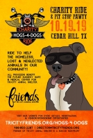 Hogs-4-Dogs Charity Ride