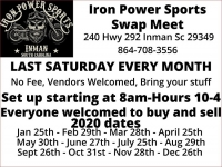 Iron Power Sports Swap Meet
