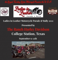 Ladies in Leather Parade & Rally