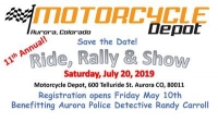 Motorcycle Depot Ride, Rally and Show