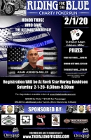 Riding For The Blue Charity Poker Run