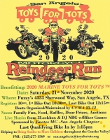 San Angelo Toys for Tots Reindeer Run