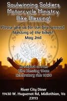 Soulwinning Soldiers Motorcycle Ministry Bike Blessing