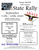 Texas ABATE Annual State Rally