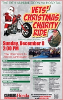 Vets' Christmas Charity Ride